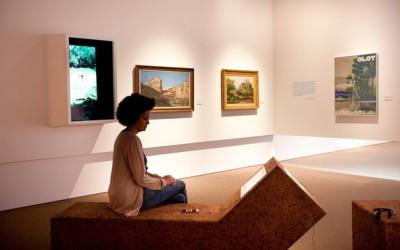 Pintura Museo del paisaje en Olot(La Garrotxa)