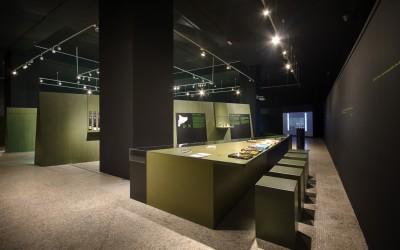 Trabajo de pintura realizado en el Museo de Arqueología de Barcelona
