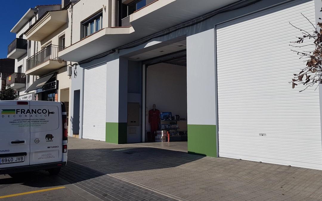 Fachada Tienda Agrícola Duran(Figueres)